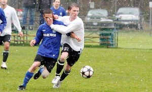 A rainy battle at Timberlane