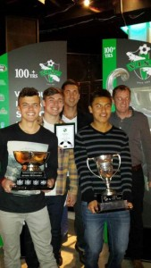 Division 3 Winner Cup, VISL Team of the Year Award and Divisional MVP
