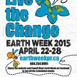5 things you can do to Live the Change during Powell River Earth Week