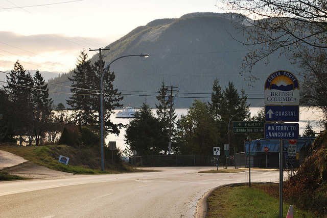 Saltery Bay - Photo by the BC Ministry of Transportation on Flickr