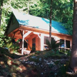 Adventures in Powell River: Glamping at Fairview Bay Hut