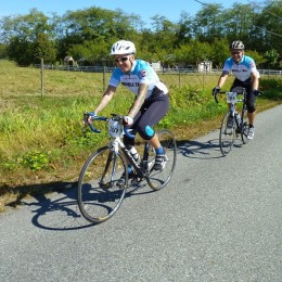 These two Powell River cyclists will ride 200km in two days in support of lung health
