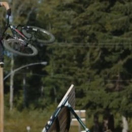 The Powell River Bike Park, like you've never seen it before