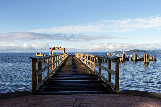 David Bay Wharf - Sechelt, BC - photo by Ken McMillan on Flickr