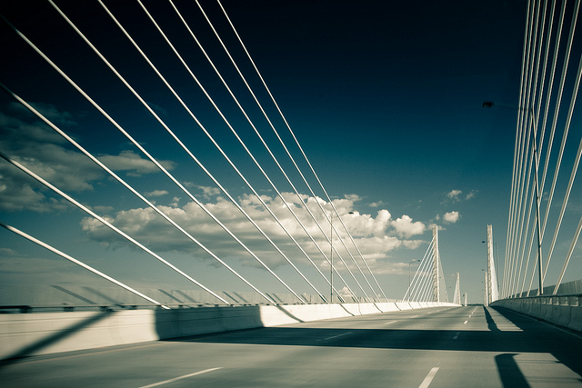 Golden Ears Bridge - photo by Casey Yee on Flickr