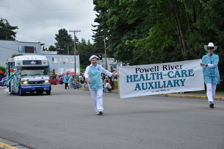 Hospital Auxiliary float / Photo: Janis Behan