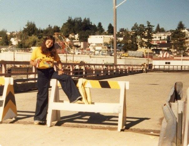 Sea Fair in 1978, back when it was held down by the Ferry wharf. / Photo: Chris Olson-Brown