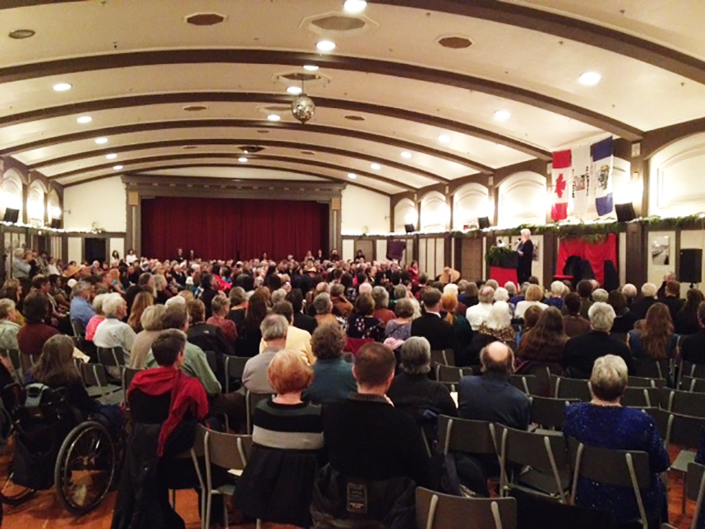An Evening for Elsie crowd