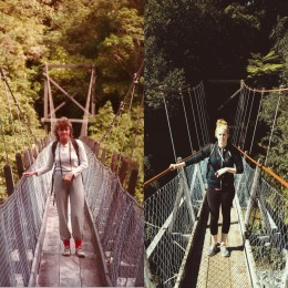 Then & Now: Powell River girl re-creates vacation photos her parents took 30 years ago