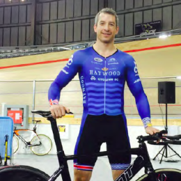 Former Powell Riverite Tristen Chernove wins two gold medals at Para-cycling Track World Championships