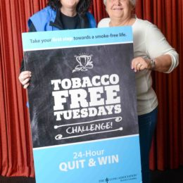 BC Lung Association Director Challenges Powell River Smokers to Quit for 1 Day and Win!