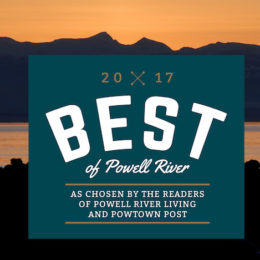 2017 Best of Powell River Results
