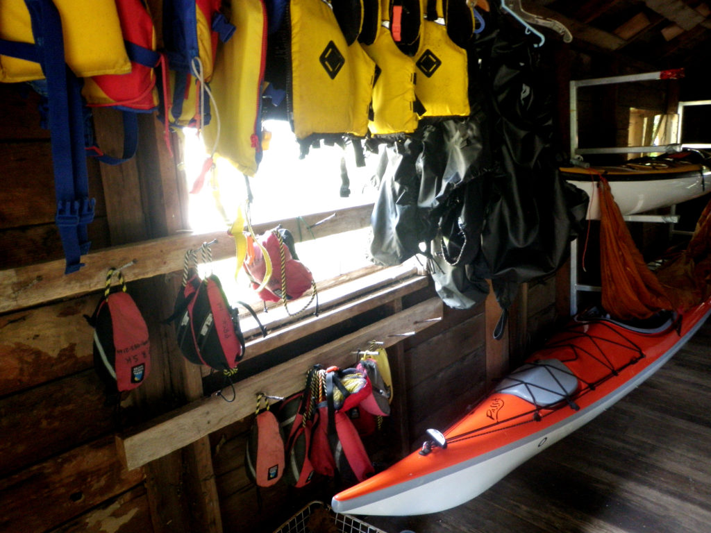 Powell River Sea Kayak: tools of the trade