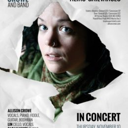 Allison Crowe and Band: Live at the Patricia Theatre