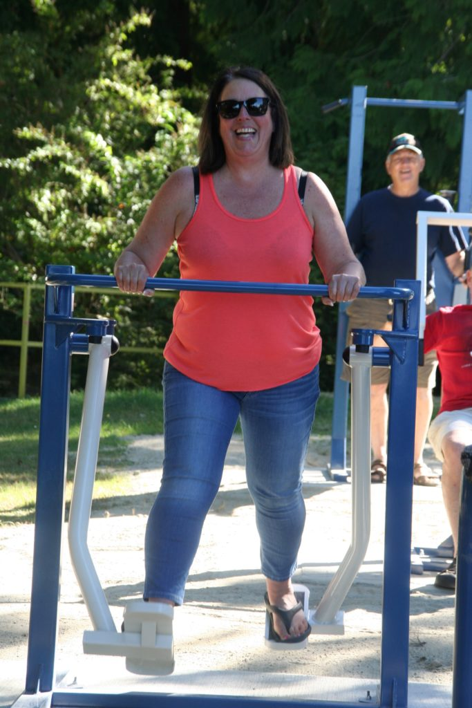 rotary club fitness equipment willingdon beach