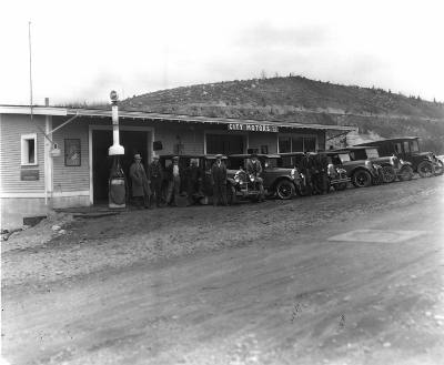 City Motors Powell River townsite 1927