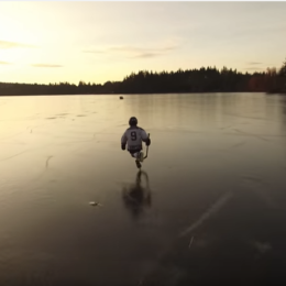 [VIDEO] Skating on Cranberry Lake for the 1st time in 20 years!