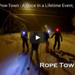 Night Skiing Powtown: Once In a Lifetime?