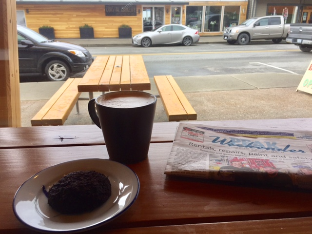 foodie guide to powell river: base camp coffee