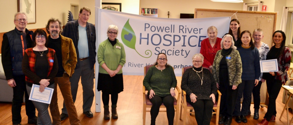 Powell River Hospice Society Volunteer Apprecation Dinner, March 13, 2017.