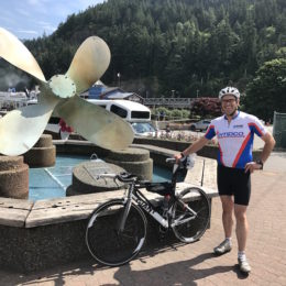 I did the BC Ferries Circle Tour in one day…. on a bike