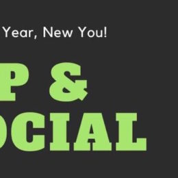 Healthy Sip & Social to Start off the New Year